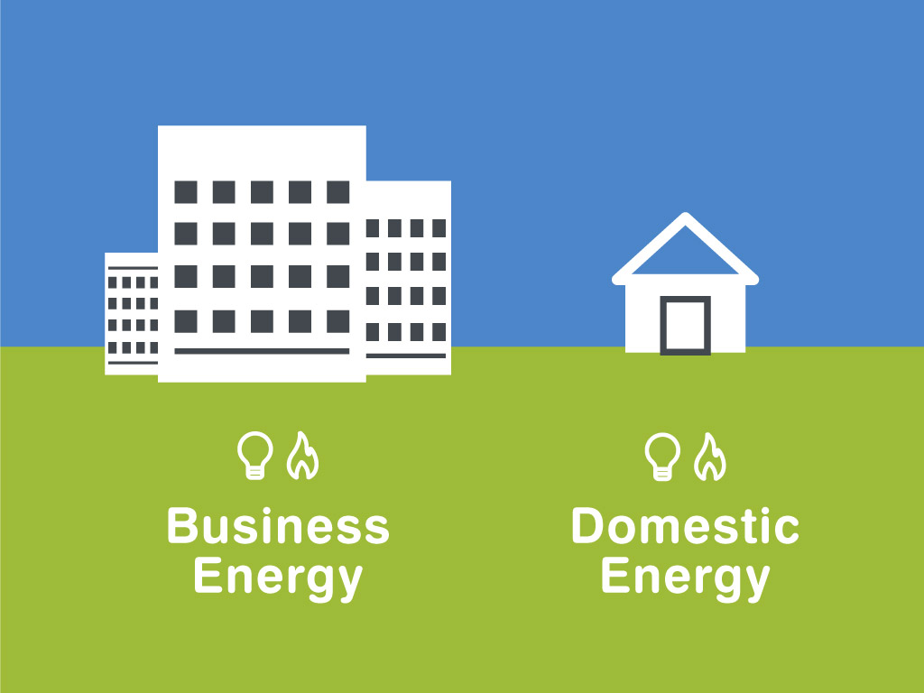 whats the difference between business energy and domestic energy