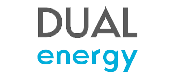 dual energy logo with transparent background