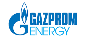 gazprom energy logo with transparent background
